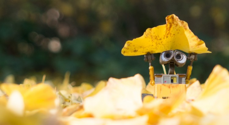 Happy Wall-e by Shizo
